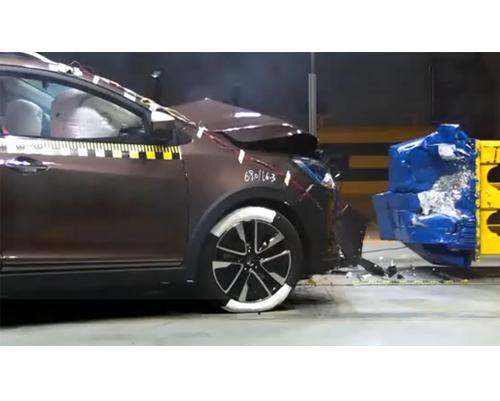 汽车碰撞高速图像分析系统