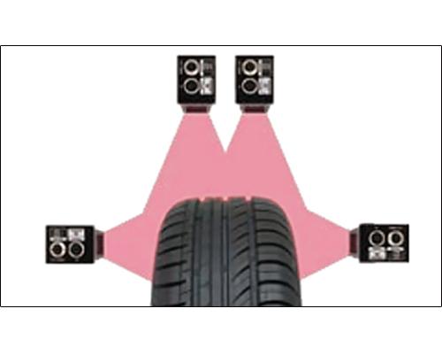 轮胎鼓包检测系统